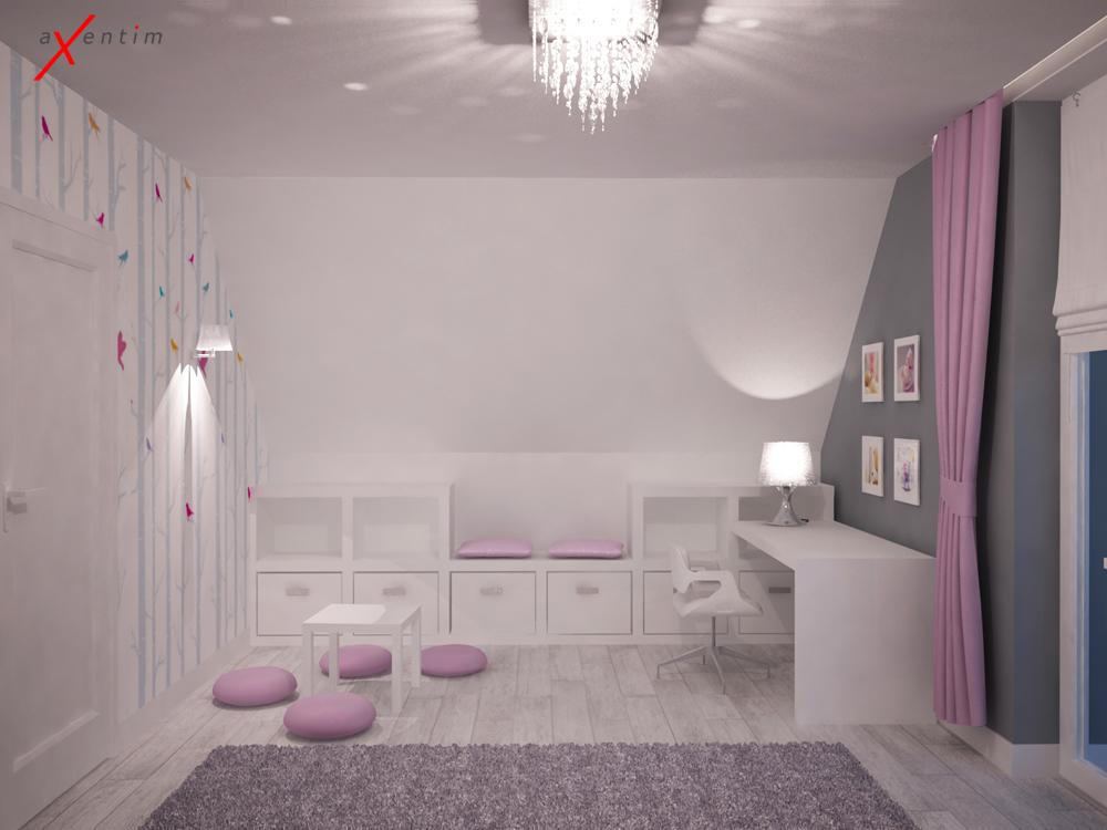 pokoje dla dziewczynki axentim. Black Bedroom Furniture Sets. Home Design Ideas