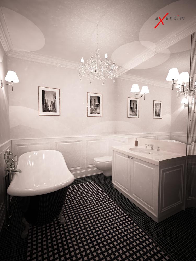 łazienka W Stylu Nowojorskim Axentim